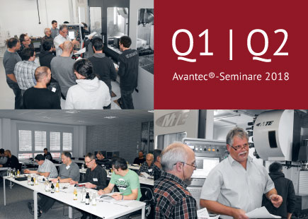 Seminartermine 2018